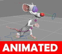 mouse pinky 3d x