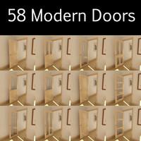 3d door panels model