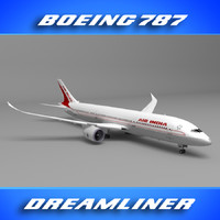 3ds max 787 air