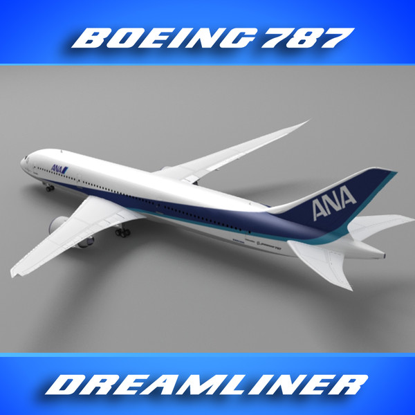 maya 787 dreamliner nippon - Boeing_787 (All Nippon)... by PerspectX