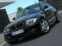 BMW 1-series 5 door (2009)