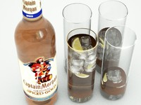 Spiced Rum Bottle