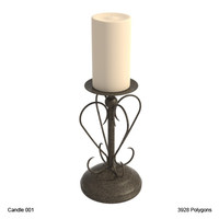 3ds max candle