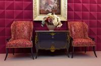 3d model chair portfolio