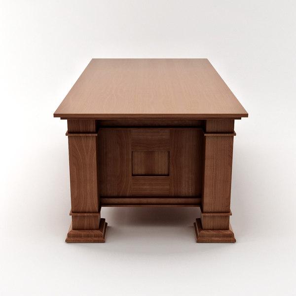 Design table desk 3d dxf for 3d table design