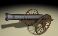 cannon medieval c4d