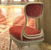 3d model chair rendering