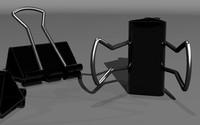 3d model paper clips