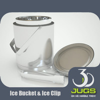 IceBucket with ice clip