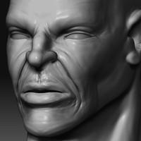 3d 3ds male face