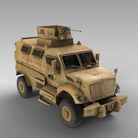 3d model maxxpro military ambush