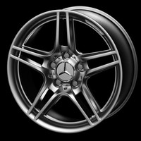 mercedes-benz wheel rim mercedes c 3d model