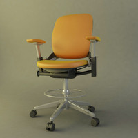 modern office chair obj
