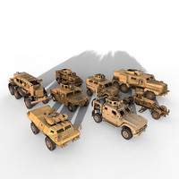 Mine Resistant Vehicles Mega Pack