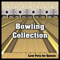 Complete Low Poly Bowling Collection