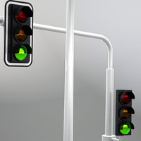 traffic lights 3ds