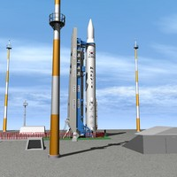 South Korean Naro Launch Pad