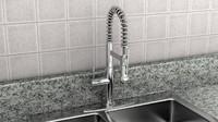 faucet sink 3d model
