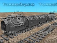 armoured train 3d model