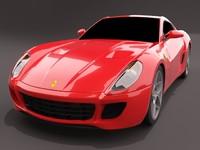 599gtb midres 3d model