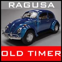 Old timer Blue