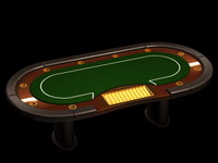 Poker casino table