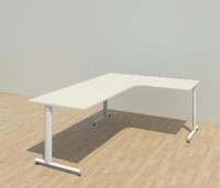 3d model of work steelcase
