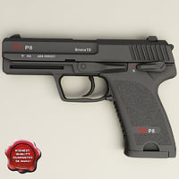 Heckler & Koch USP P8 pistol (Germany)