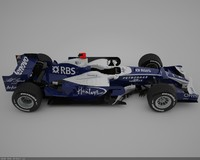 3d williams toyota fw30 model