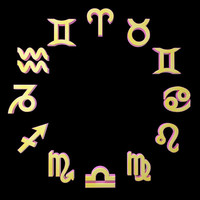 3d model zodiac signs
