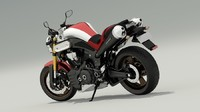 3ds max yamaha mt-01