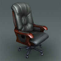 office boss chair 3d max