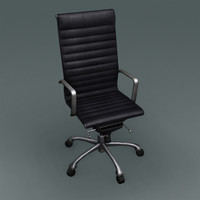 soft pad chair 3d model