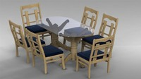 maya dining table set