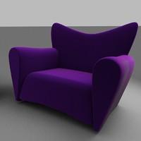 3dsmax coach furniture