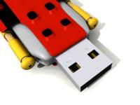 pen drive 3d model