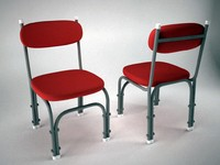 3d general purpose chair model