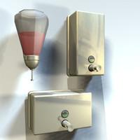 3d model soap dispenser 01