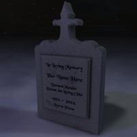 Tombstone/Grave Marker