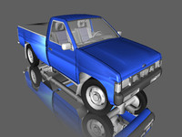 Nissan Hardbody 3D models