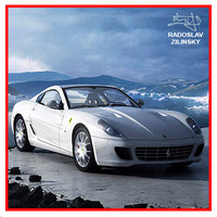 Ferrari 599 GTB fiorano HIRES CAR