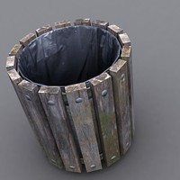 rubbish bin 3d model