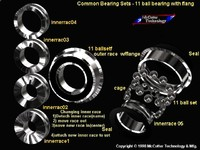 3d machine ball bearing