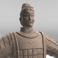 ancient chinese terracotta warrior max