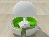sphere dining chair