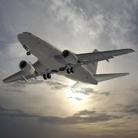 b 737-500 3d dwg