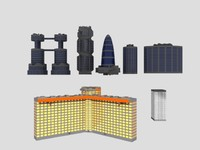 Skyscraper and Building Pack