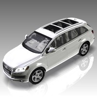 3d model car audi q7 luxury