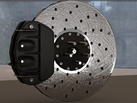 brake disc 3d 3ds