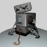 3ds max broken robot